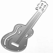 Souarts Guitar Metal Cutting Dies Embossing Stencils for Album Card Scrapbooking Craft 1pc