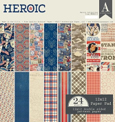Authentique Paper Heroic 12x12 Paper Pad
