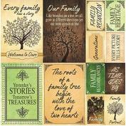 Reminisce Family Tree Poster Sticker Sheet