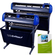 70cm USCutter TITAN 2 Vinyl Cutter/Plotter with Stand, Basket and Design and Cut Software