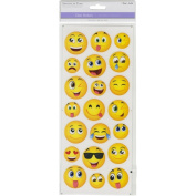MultiCraft Classic Theme Medium Emojis Clear Stickers