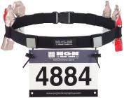 NGN Sport - Race Number Belt for Triathlon, Marathon, Running, Cycling