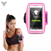 Forbidden Road Running Armband 10 colours Sport Armband for Walking GYM Workout Arm Band with Earphone Key Holder Water-Resistant Phone Case for iPhone 6 / 26.5lxy S7 Edge Note 4