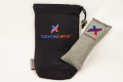 Xeros Gear Anti-Bacterial Shin Guard Bag - Remove the Bacteria and Remove the Odour!! All done naturally using 100% Moso Bamboo Charcoal. Great Soccer Shin Guard Storage Bag. Works for a Year!