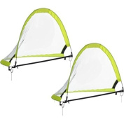 6 Footer POP UP Portable Training Soccer Goal Flash Green