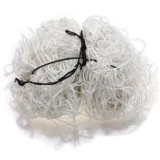 High-strength Full Size 3.7m x 1.8m Football Soccer Goal Post Nets Straight Flat Back