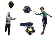 KickTHROW Soccer/Football Kick/Throw Trainer Solo Practise Training Aid Control Skills Adjustable Waist Belt