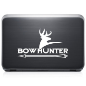 Bow Hunter Deer Buck REMOVABLE Vinyl Decal Sticker For Laptop Tablet Helmet Windows Wall Decor Car Truck Motorcycle - Size (05 Inch / 13 Cm Wide) - Colour