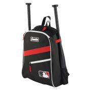 Franklin Sports MLB Batpack black/Red