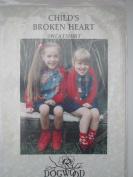 Child's Broken Heart Craft Pattern