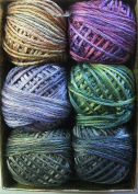 Valdani Luxury Silk 6 Strand Floss Jewels Set 2 Thread Hand-dyed 6 Spool VAK1002