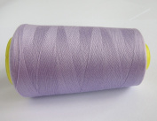 3000 Yards Light Purple Reel 40s 2 402 Tex 27 Tickets Size 120 Spools Polyester PP SP Sewing Thread Hand Machine industrial Embroidery Yarn Quilting Serger Clothes