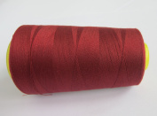 3000 Yards Burgundy Reel 40s 2 402 Tex 27 Tickets Size 120 Spools Polyester PP SP Sewing Thread Hand Machine industrial Embroidery Yarn Quilting Serger Clothes