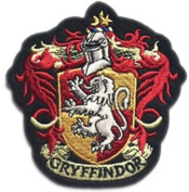 InspireMe Family Owned Harry Potter Gryffindor House Crest Hogwart Embroidered Sew/Iron-on Patch/Applique 10cm