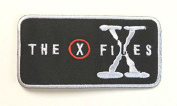 InspireMe Family Owned The X Files Logo Embroidered Sew/Iron-on Patch/Applique 5.1cm x 10cm