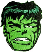 InspireMe Family Owned Marvel Comics The Incredible Hulk Embroidered Sew/Iron-on Patch/Applique 8.3cm x 7.6cm