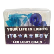 Celebration In Lights LED String Light Banner, It's a Boy