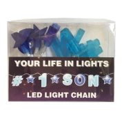 Celebration In Lights LED String Light Banner, #1 Son