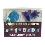 Celebration In Lights LED String Light Banner, #1 Dad