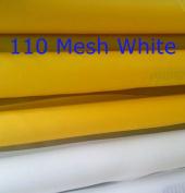 White 3 Yards 160cm (1.65m) Wide110 Mesh(43T) Silk Screen Printing