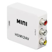 Mini Composite 1080P HDMI to RCA Audio Video AV CVBS Adapter Support HD For HD HDMI2AV Converter BOX For TV PC VCR DVD PAL