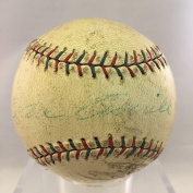 Rare 1929 Earl Averill Rookie Single Signed Al Game Used Baseball Coa - PSA/DNA Certified - MLB Autographed Game Used Bases