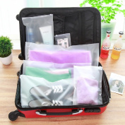 Urmiss 7 Pcs Different Size Multifunctional Travel Storage Bag Luggage Garment Waterproof Plastic Organiser Bags