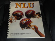 1995 NLU NORTHEAST LOUISIANA COLLEGE FOOTBALL MEDIA GUIDE EX-MINT BOX 40