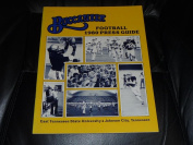 1980 EAST TENNESSEE STATE COLLEGE FOOTBALL MEDIA GUIDE EX-MINT BOX 40
