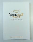 PartyErasers Blank Sheet Notebook - Believe In Yourself