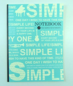 PartyErasers Lined Exercise book - Simple Life