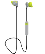 Bluetooth Conturbuds for All Bluetooth compatible devices-Special Technology to Fit every ear- by GabbaGoods- Grey