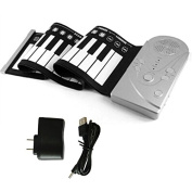 49 Keypad Portable Folding Piano Silicone Soft kids Beginner Practise Player Musical Instrument With Speaker Children's toys