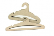 "Koobay 17"" Natural Recyclable Paper Cardboard Adult Cloth Hanger,High Load Bearing 3.5mm Thickness Ok for Ski Suit"