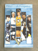 PITTSBURGH PENGUINS NHL HOCKEY MEDIA GUIDE - 2002 2003 - NEAR MINT