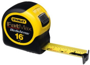 Stanley 33-716 4.9m-by-3.2cm FatMax Tape Rule with Blade Armour