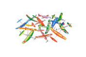 12 Pack 20cm Glider Planes - Birthday Party Favour Plane, Great Prize, Handout / Giveaway Glider, Flying Models, One Dozen