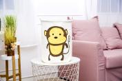 Foldable Laundry Basket, Lmeison 50cm Large Sized Waterproof Coating Burlap Canvas Storage Basket Organiser for Kid's Room Toy Storage, Laundry Hamper for Blouse T-shirt Underwear - 2 FAMILY PACK