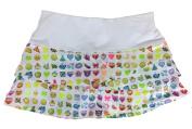 Lucky in Love Junior Girls' Rainbow Emoji Scallop Skirt