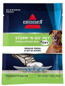 Bissell Stomp 'N Go Pet Stain Lifting Pads, 20 Pack