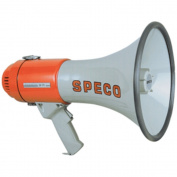 Speco ER370 16W 240m Handheld Deluxe Megaphone Weatherproof W/Siren Marine RV Boating Accessories