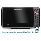 Tuff Protect Clear Screen Protectors for Humminbird Helix 9 Fish Finder Screen