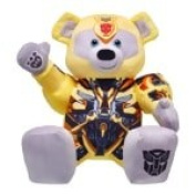 Build a Bear Workshop Transformer Bumblebee Bear 41cm Plush Toy