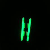 Clip-on Light Sticks for Rod Tips Dry Type Snap Fishing Rod Top Glow Stick Chemical Light 10 Bags