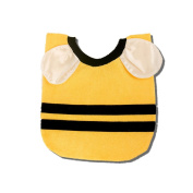 Cute Bee Stripes Dribble Bib for Babies and Toddler, by iMeMine