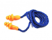 Water Sports Swim Swimming Soft Silicone Corded String Ear Plugs Reusable Hearing Protection Earplugs Multiple-use