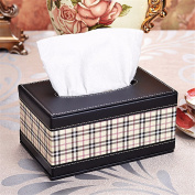 Car leather tissue box/carton/paper napkin box/Creative Car Organisation Box,P,19*12*9.5CM