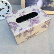 Car Accessories/Leather Tissue Box/Creative Car Tissue Box/Block Drawer/Auto Parts/16.9 * 12.3 * 8.6cm,K