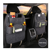 Silence Shopping - Extra Large Multi-Pocket Storage Solution Reduces Clutter in Cars - Fits Nearly All Vehicles - Durable Pack 1