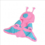 TFXWERWS Creative Cute Knit Crochet Mini Clothes Photo Prop Outfits for Baby